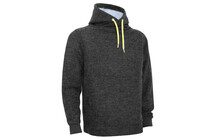 Chillaz Men's Crossneck Hoody black melange